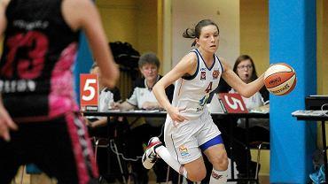 Karina Różyńska. KKS Olsztyn - Basket 25 Bydgoszcz 72:54