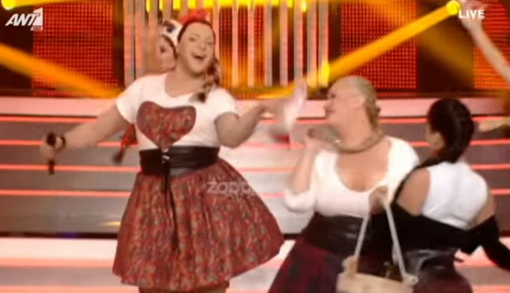 Grecka wersja Cleo w programie ''Twoja twarz brzmi znajomo''