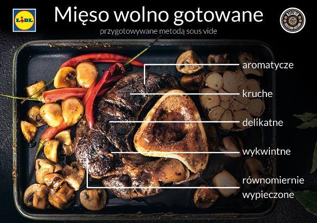Lidl - mięso wolno gotowane metodą sous vide
