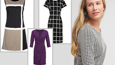 Sukienki do pracy dla noszących rozmiar 42+