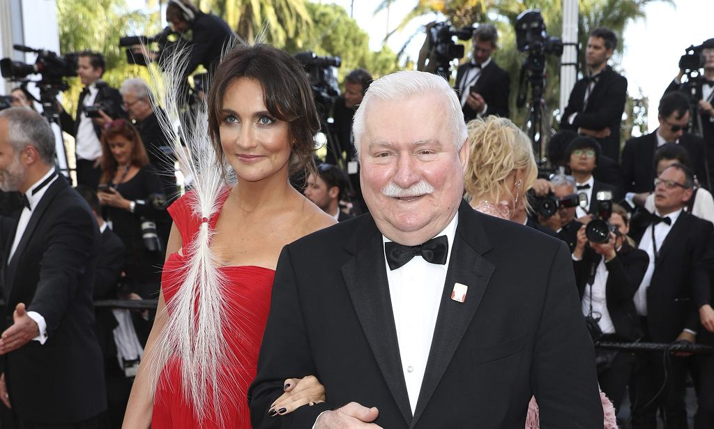 Lech Wałęsa w Cannes