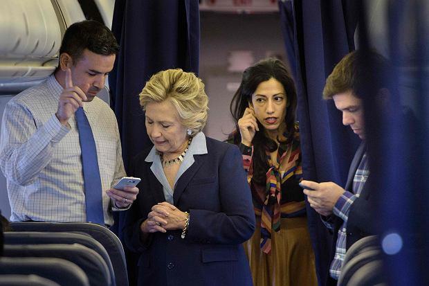 Hillary Clinton i Huma Abedin