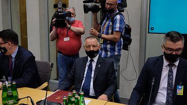 Marian Banas przed Komisja Sejmowa