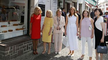 Szczyt G7 - Małgorzata Tusk, Melania Trump i Brigitte Macron