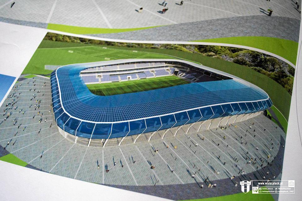 Koncepcja nowego stadionu Wisły Płock