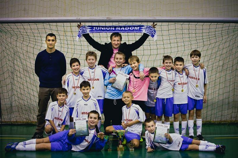 Junior Radom, tiumfator zawodów Mikołajki 2013 w kategorii U-10