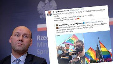 Wiceszef MSZ skrytykował ambasadę Niemiec