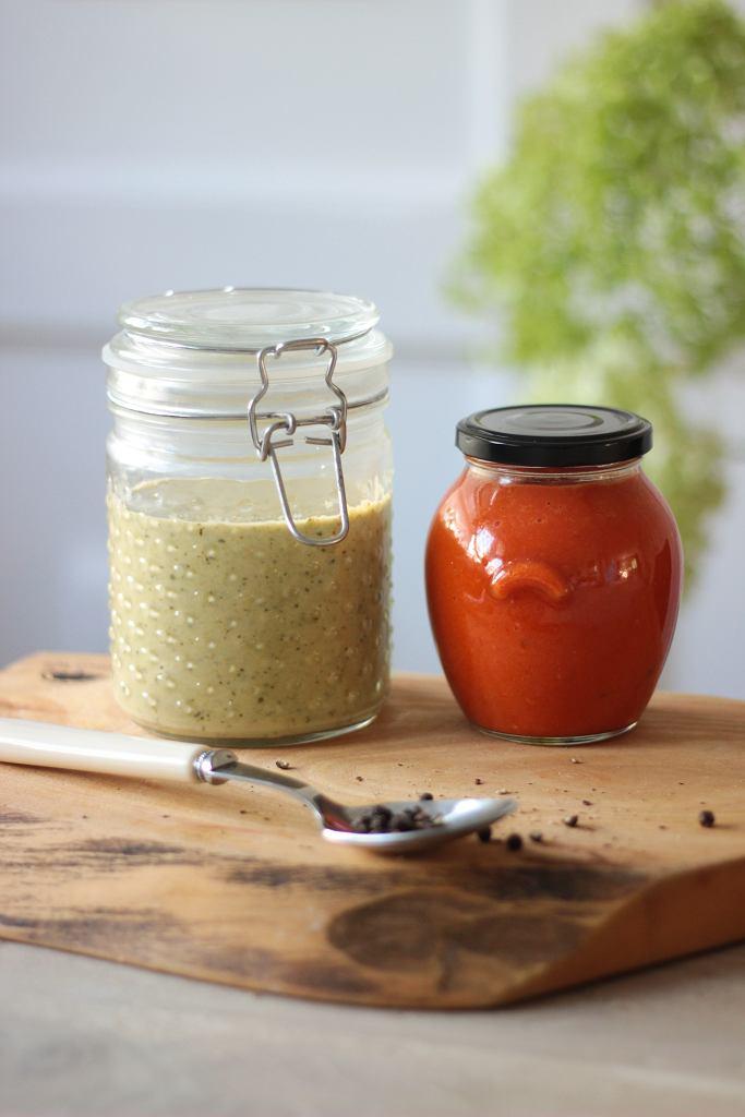 'Sosozupy' z zielonych warzyw i pieczonej papryki - genialne na wyjazd