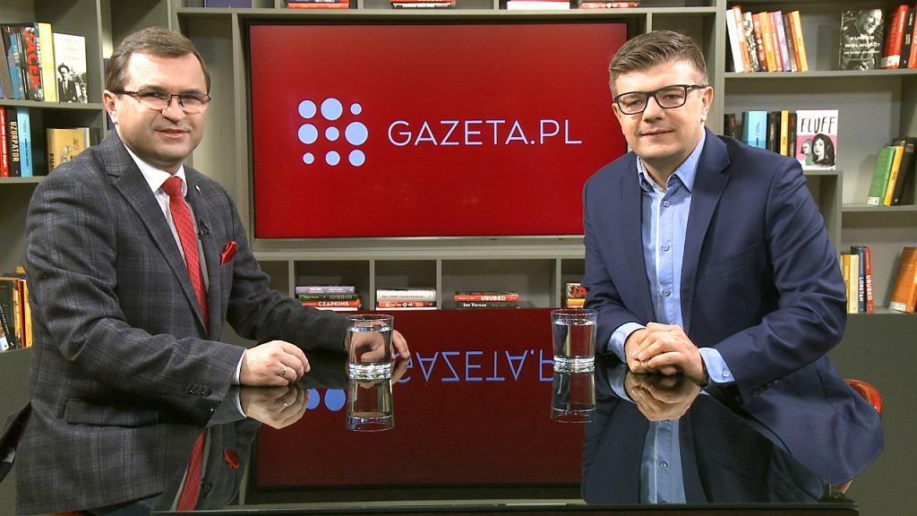 Dr hab. Zbigniew Girzyński był gościem Porannej rozmowy Gazeta.pl