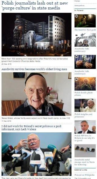 Telegraph o Polsce