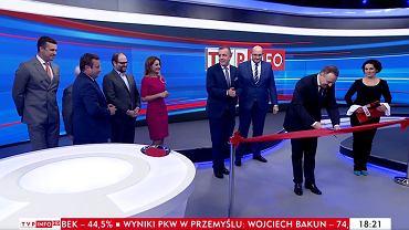 nowe studio TVP Info