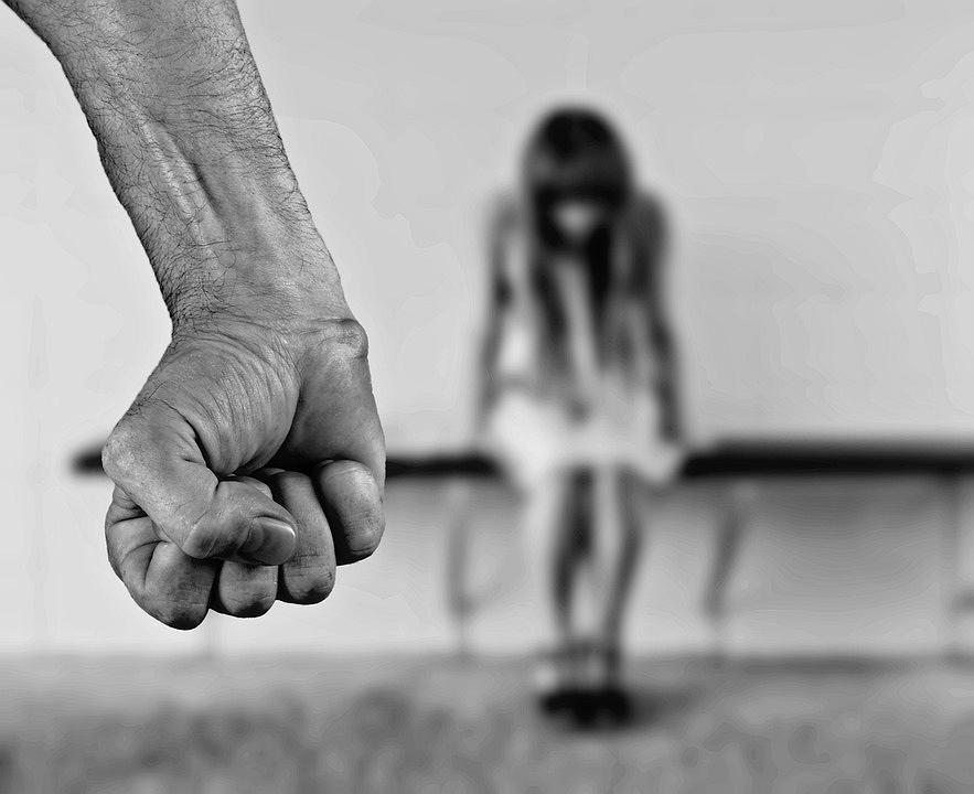 Ofiara przemocy - zdjęcie ilustracyjne