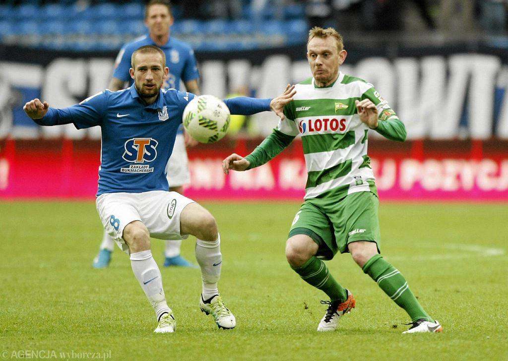 Lech Poznań - Lechia Gdańsk 0:0. Szymon Pawłowski