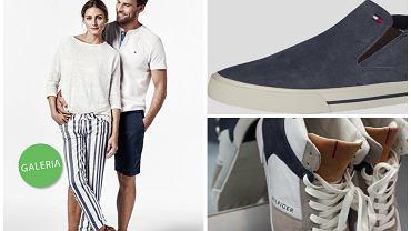 Stylowa para Olivia Palermo i Johannes Huebl prezentują swoje ulubione modele z letniej kolekcji Tommy Hilfiger 2015