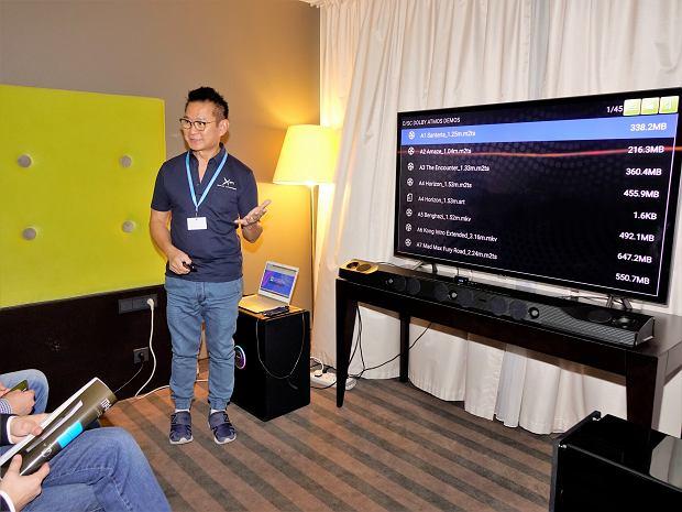 Premiera rewolucyjnego Soundbara X-FI Sonic Carrier na Targach Audio Video Show 2018 w Warszawie