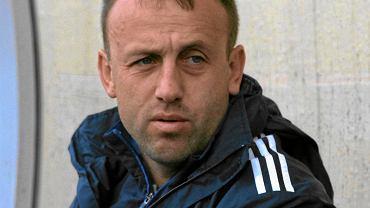 Trener Arki Paweł Sikora