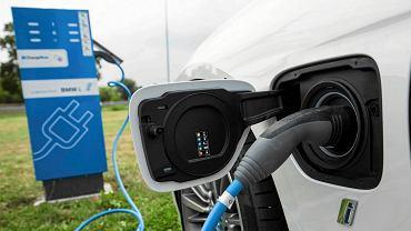 Samochód elektryczny (zdjęcie ilustracyjne)