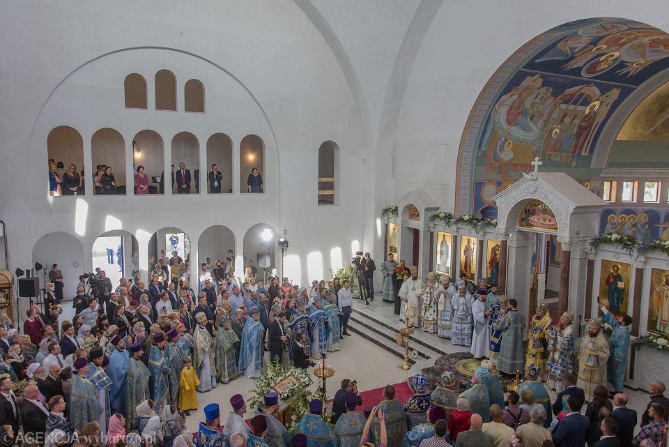 Zdjęcie numer 5 w galerii - Hagia Sophia w Warszawie niczym w Stambule. Pierwsza od zaborów nowa cerkiew w stolicy przyjęła wiernych