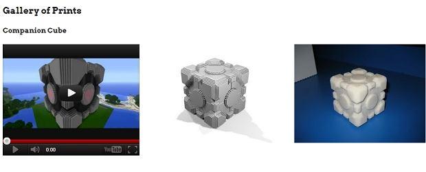 Strona projektu Minecraft.print().