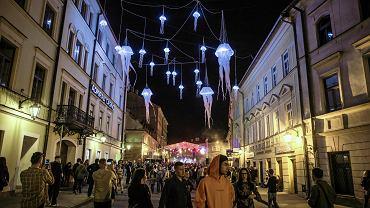 Lublin. Miasto podczas Nocy Kultury