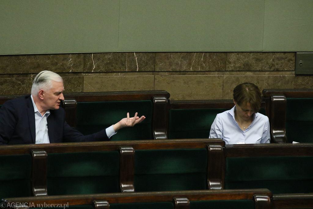 Jadwiga Emilewicz i Jarosław Gowin