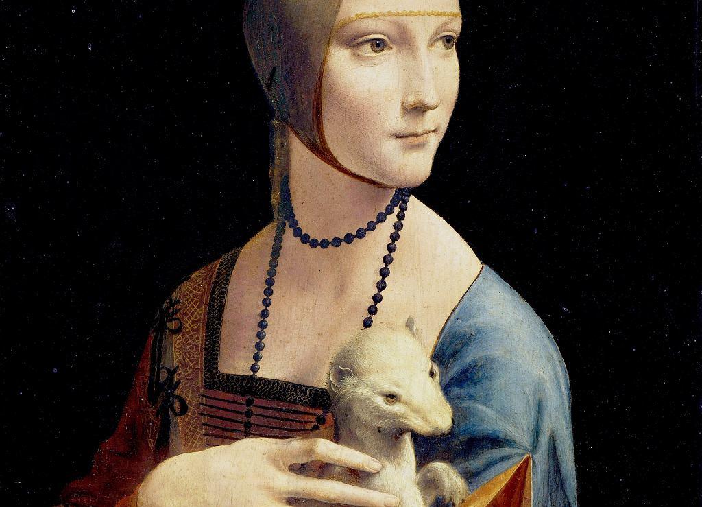 Obraz 'Dama z gronostajem'