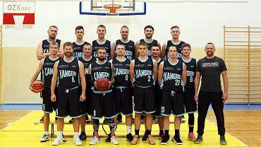 Drużyna koszykarzy Onlajnersi Kangoo Basket Gorzów na sezon 2020/21