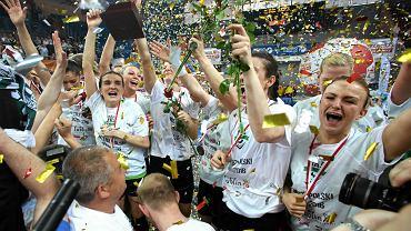 Piłkarki ręczne MKS Selgros Lublin - mistrzynie Polski na sezon 2015/2016