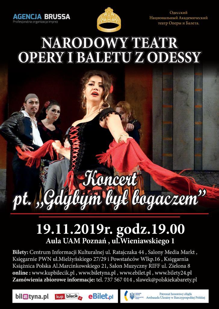 Narodowy Teatr Opery i Baletu z Odessy - 'Gdybym był bogaczem'