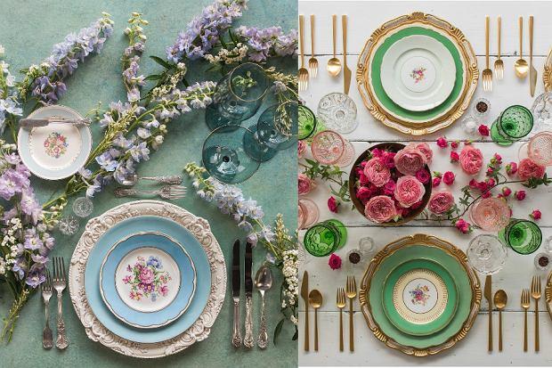 Najpiękniejsza zastawa stołowa na wiosnę