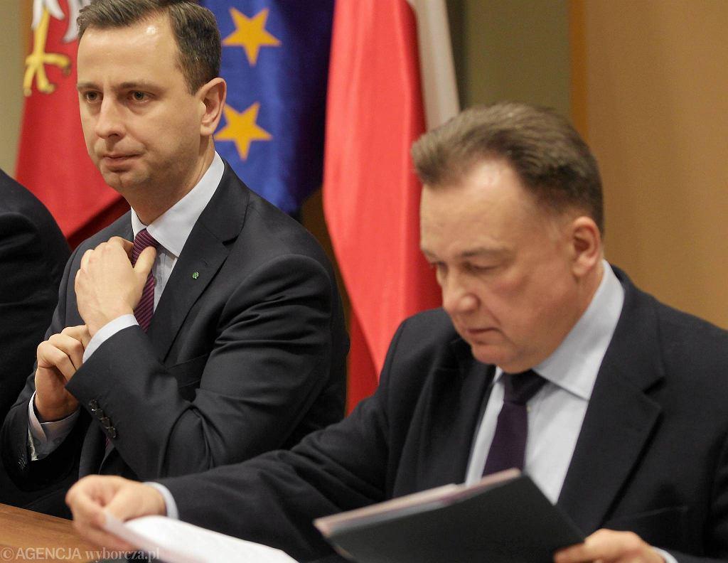 Władysław Kosiniak-Kamysz i Adam Struzik podczas konferencji