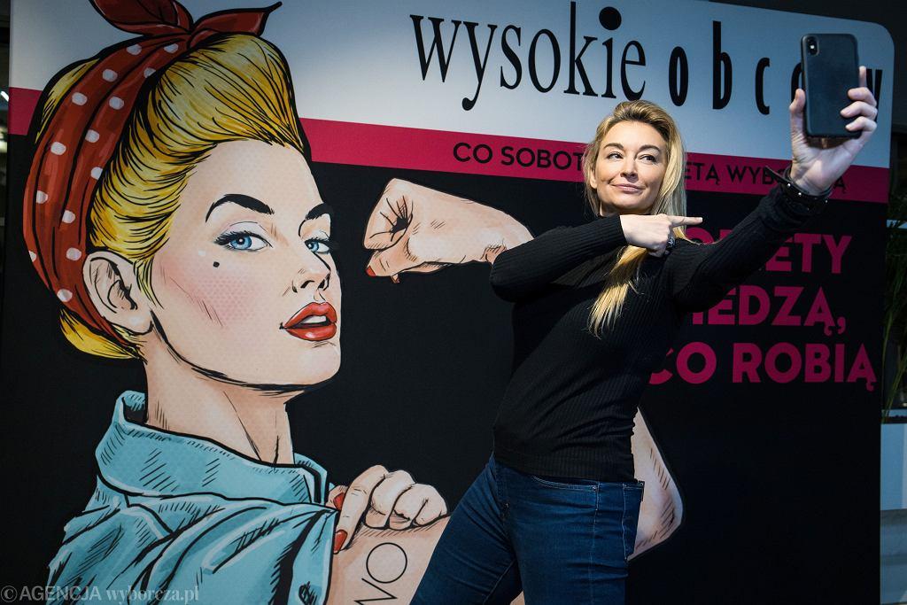 Martyna Wojciechowska na 'Kobiety wiedzą, co robią' w Poznaniu