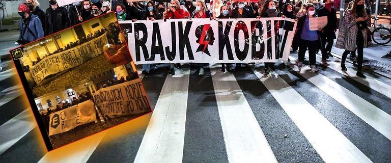 """""""Do czego doprowadzacie, polityczne gnoje"""". Transparenty kibiców o protestach po wyroku TK"""
