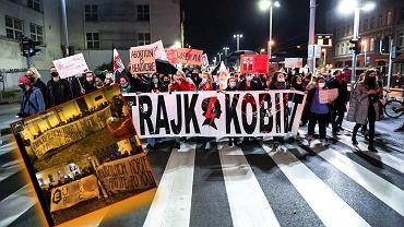 """Transparenty kibiców o protestach. """"Nie bronimy rządu, nie bronimy kleru"""""""