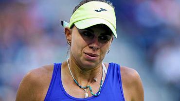 Epicka walka Magdy Linette z rewelacyjną 17-latką na US Open. Aż tu nagle zapaść