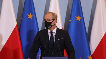 Minister zdrowia w rządzie PiS Adam Niedzielski