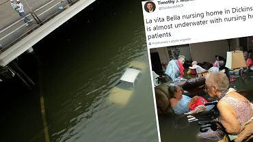 Skutki huraganu Harvey i spowodowanej nim powodzi w Houston