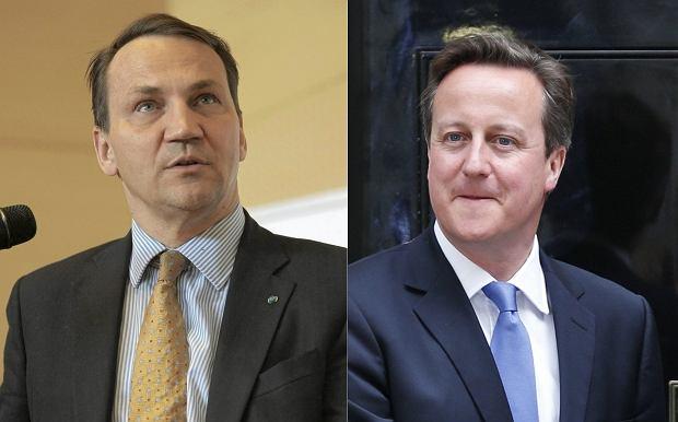 Brytyjski europoseł odnosi się do słów Sikorskiego dot. Davida Camerona nagranych na taśmach