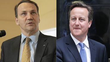 """Brytyjski europoseł odnosi się do słów Sikorskiego dot. Davida Camerona nagranych na taśmach """"Wprost"""""""