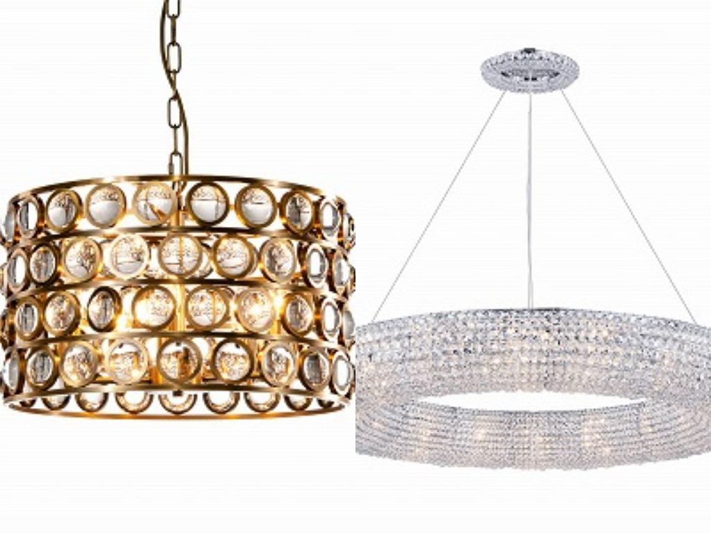 Kryształowe lampy sufitowe