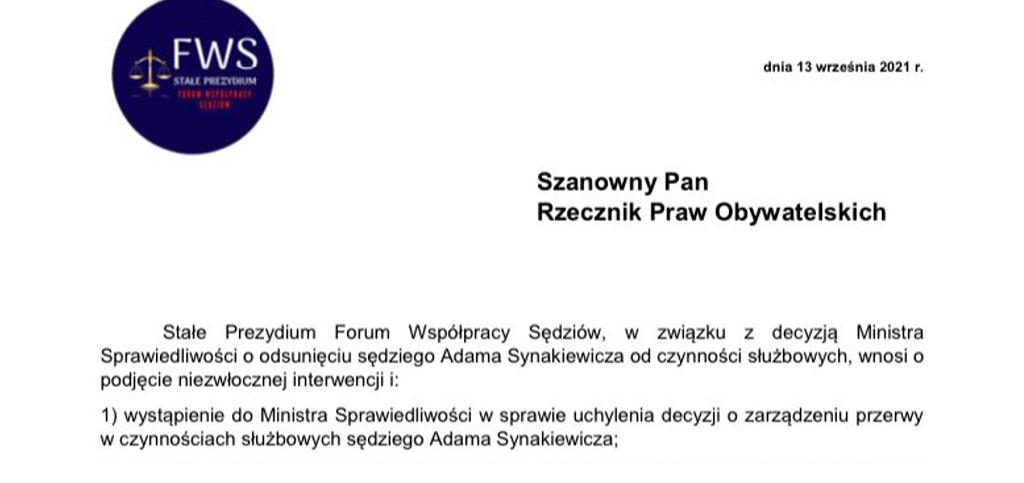screen Forum Współpracy Sędziów