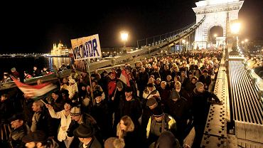 Czwartkowa demonstracja w Budapeszcie przeciwko korupcji