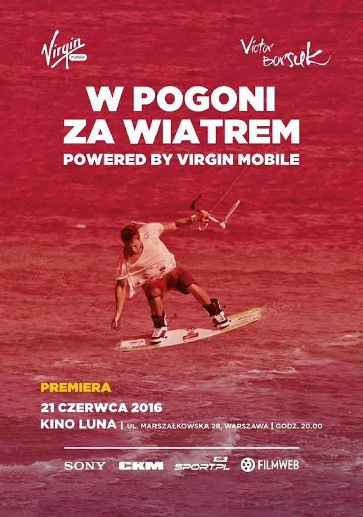 ''W pogoni za wiatrem. Powered by Virgin Mobile''