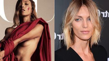 """Anja Rubik na okładce """"Vogue'a"""", """"Siła kobiet"""". Internauci: Dzięki za mocny przekaz"""