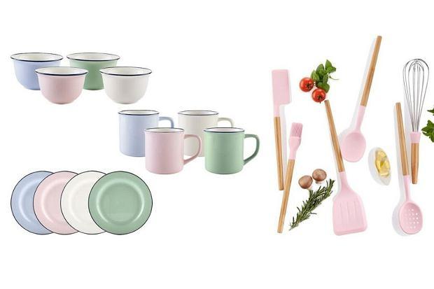 Co nowego w Lidlu? Retro kolekcja kolorowych naczyń i akcesoriów kuchennych marki ERNESTO