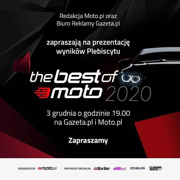 Zaproszenie na galę The Best of Moto 2020