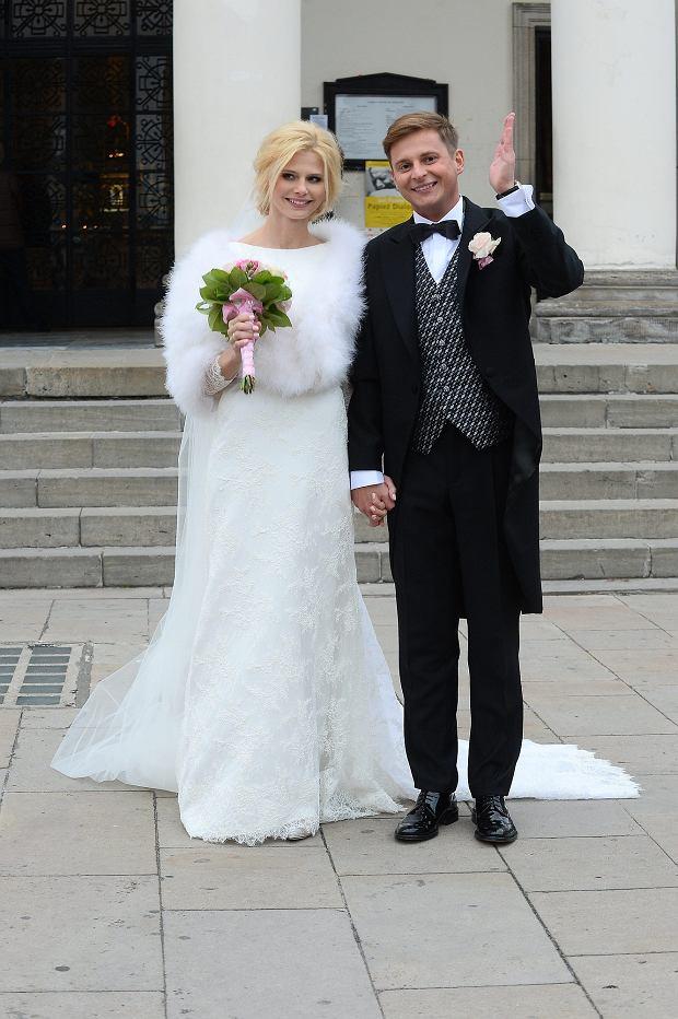 Izabela Zwierzyńska i jej narzeczony, ślub