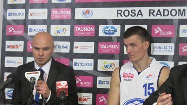 Wojciech Kamiński, z lewej strony
