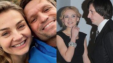 Małgorzata Socha z mężem, Joanna Moro z mężem