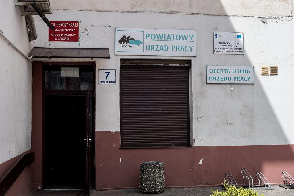 Powiatowy Urząd Pracy w Jaworze (fot . Kornelia Głowacka-Wolf / Agencja Gazeta)